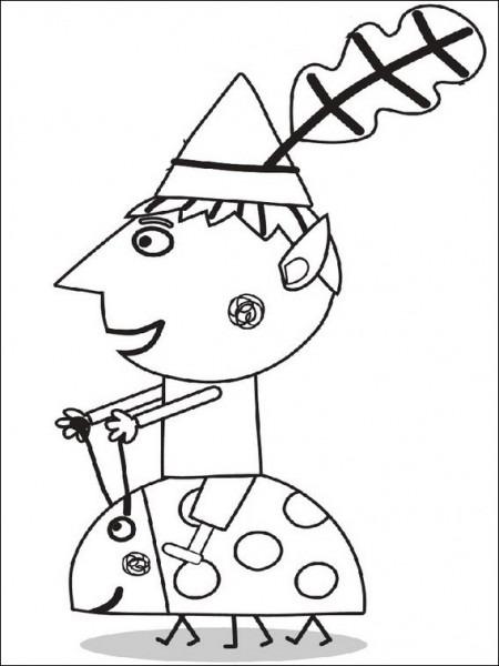 Dibujos Para Imprimir El Pequeño Reino De Ben Y Holly 13
