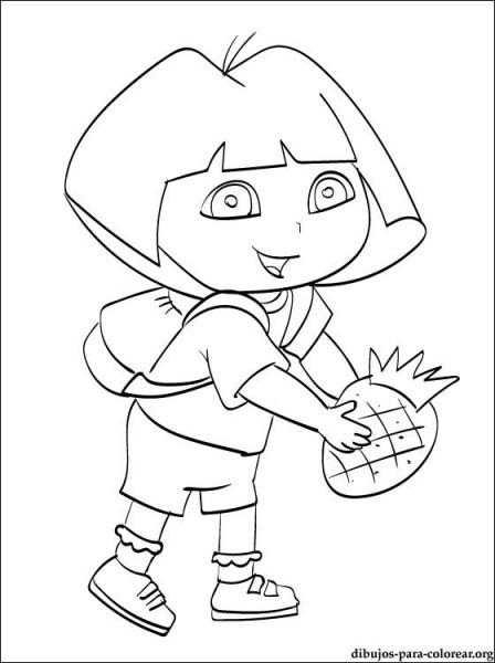 Dibujo De Dora La Exploradora Para Colorear E Imprimir