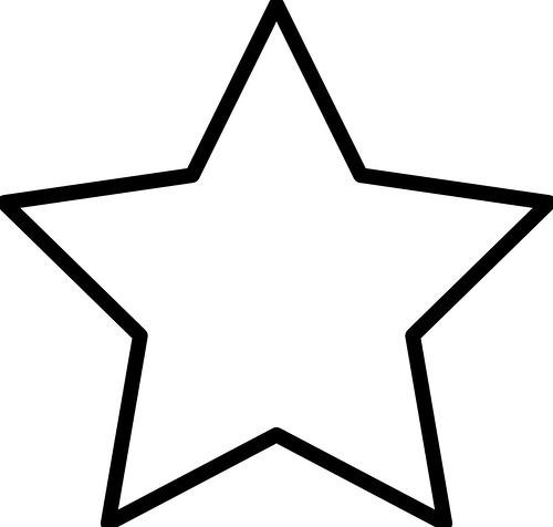 Imágenes Bonitas De Estrellas Para Colorear E Imprimir