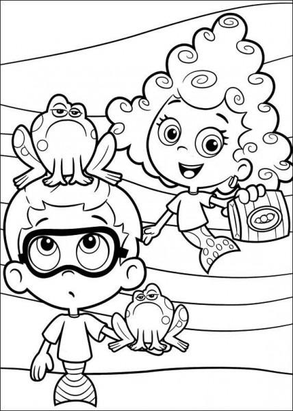 Bubble Guppies Ausmalbilder 30
