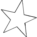 Dibujos De Estrellas Para Colorear E Imprimir