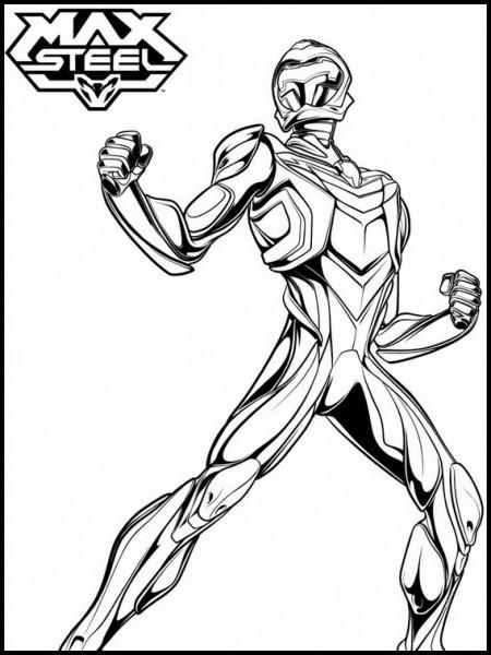 Max Steel Para Imprimir Y Colorear 19