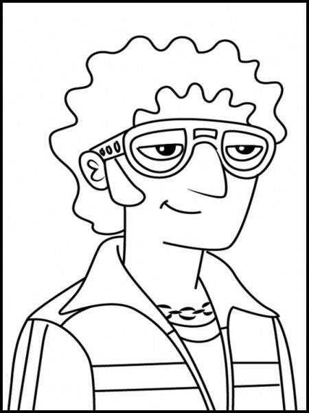 Dibujos Para Colorear Para Niños La Ley De Milo Murphy 1