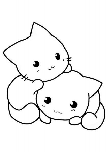Como Dibujar Un Gatito Tierno