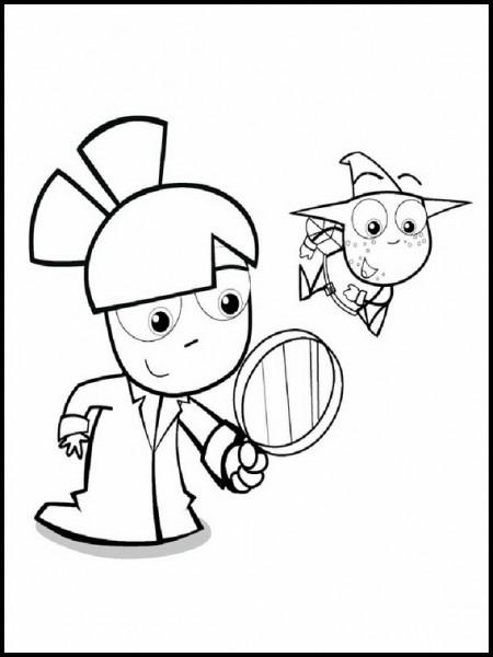 Dibujos Para Pintar Para Niños Sandra Detective De Cuentos 2