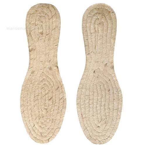 Suela Yute Para Zapatos CuÑita 3 Cm