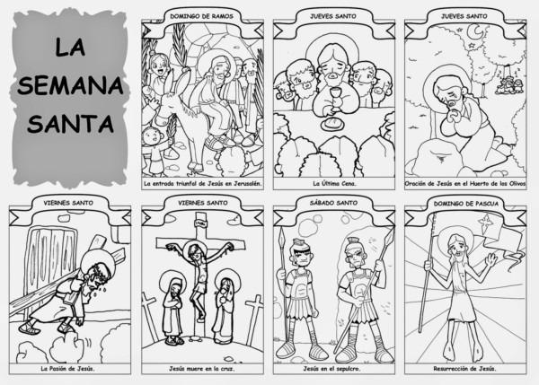 Imágenes De Semana Santa Con Mensajes Y Frases Para Pascua