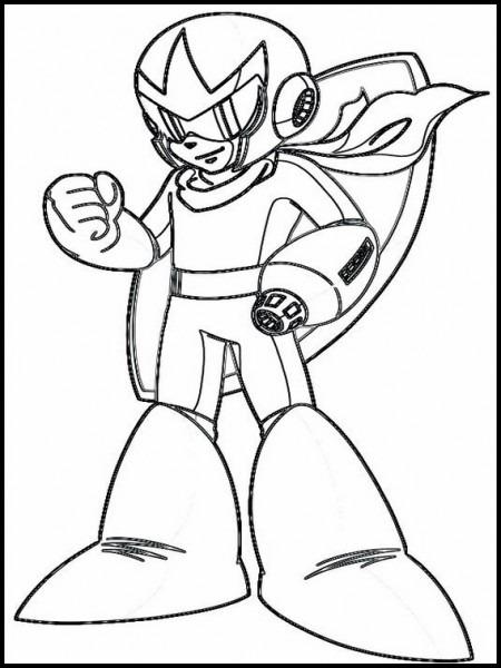 Dibujos Para Imprimir Mega Man 3