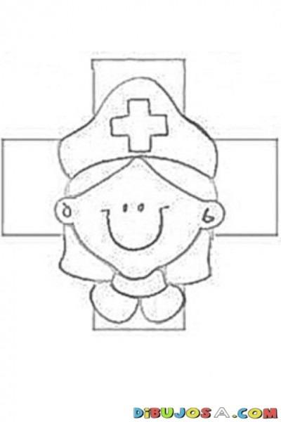 Dibujos Para Colorear En El Día De La Cruz Roja