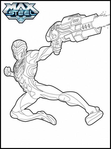 Desenhos Para Colorir Para Crianças Para Imprimir Max Steel 26