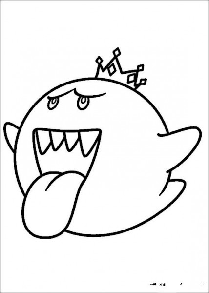 Dibujos Para Colorear Mario Bross 6