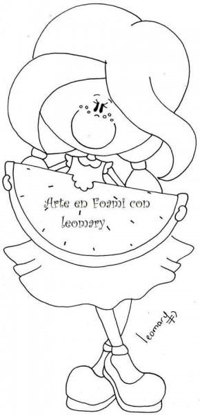Dibujos Para Fofuchas