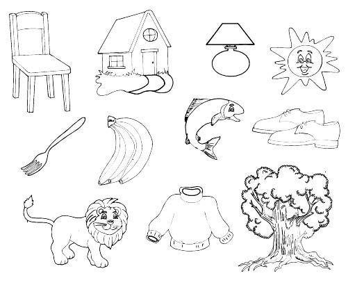 Dibujos Para Colorear De Los Recursos Naturales