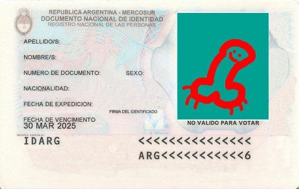 Documento Vacío Para Completar (argentina)