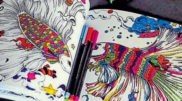 Libros Para Colorear, El Nuevo 'hobby' De Adultos
