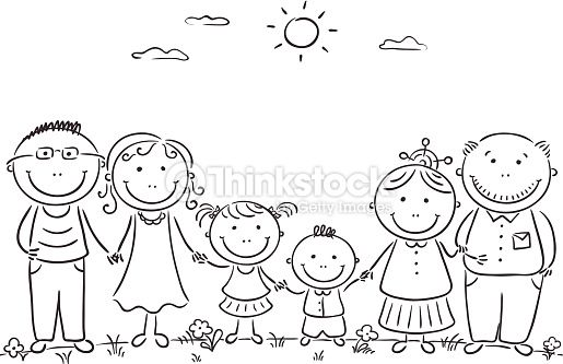 My Family Activities For Preschool Para Colorear