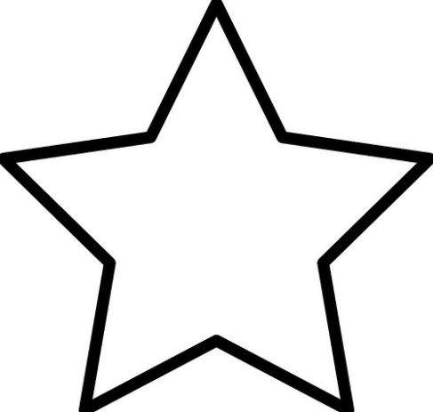 Imágenes De Estrellas Para Colorear E Imprimir