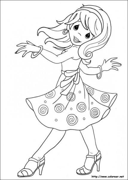 Resultado De Imagen Para Niños Bailando Para Colorear
