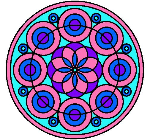 Dibujo De Mandala 35 Pintado Por Magdalenas En Dibujos Net El Día