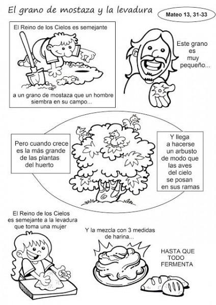 El Rincón De Las Melli  Historieta  El Grano De Mostaza Y La