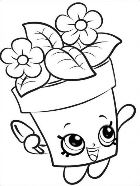 Dibujos Para Colorear Para Niños Shopkins 1