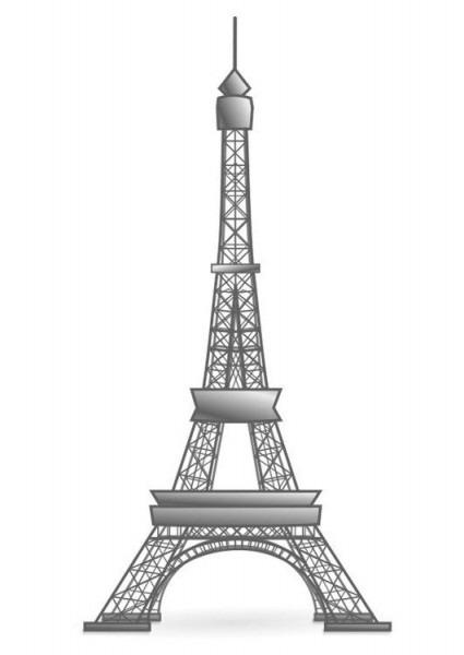 Dibujo Para Colorear Torre Eiffel