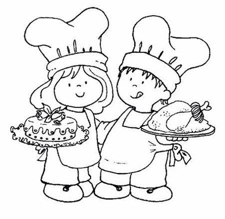 Cocinera Y Cocinero