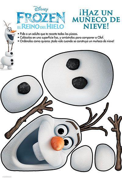 Haz Un Muñeco De Nieve!