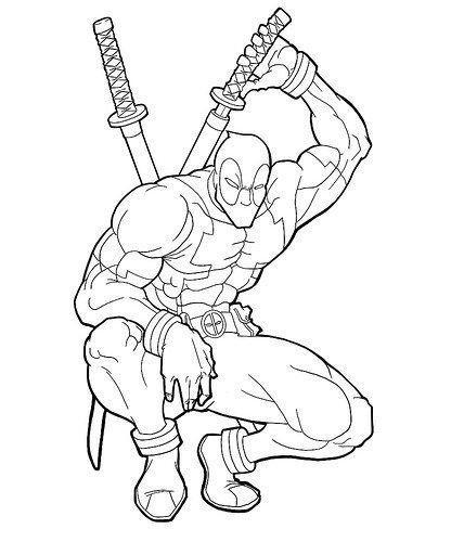 Imágenes De Deadpool Para Dibujar