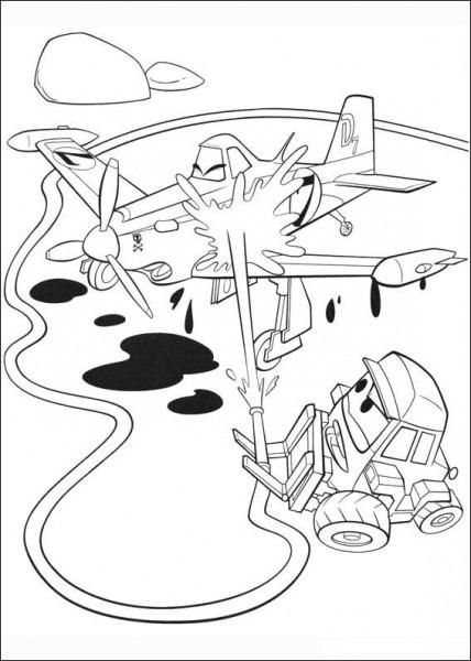 MÃ¥larbilder Flygplan 60