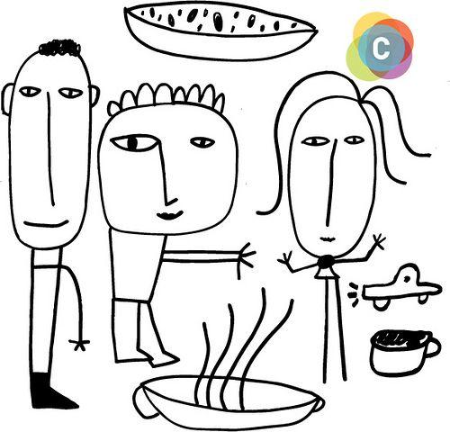 Ilustraciones De Milo Lockett Para El Cuarto Congreso Argentino De