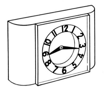 Clases De Reloj Para Colorear