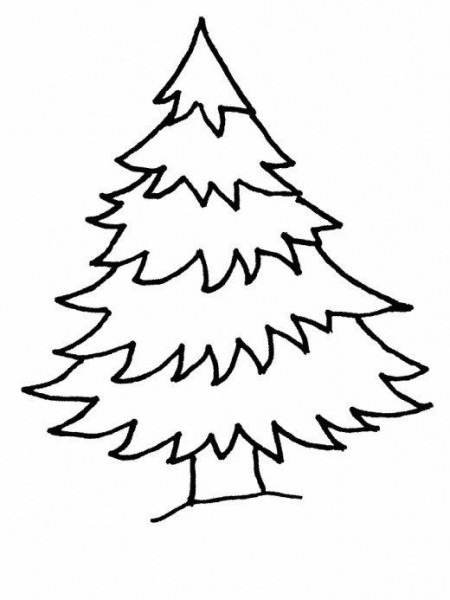 Christmas Tree Online Printable