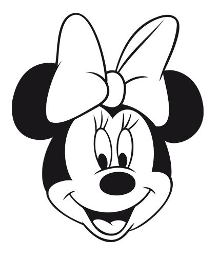 Como Dibujar La Cara De La Minnie