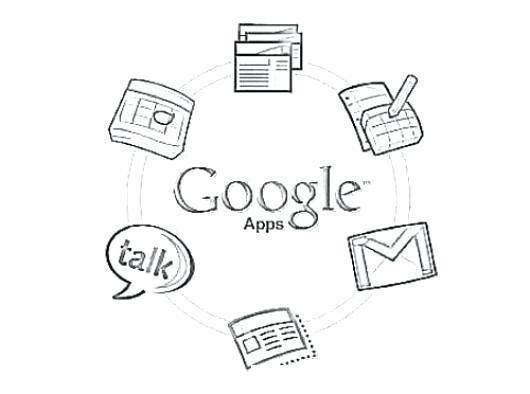 Logo Google Para Colorear