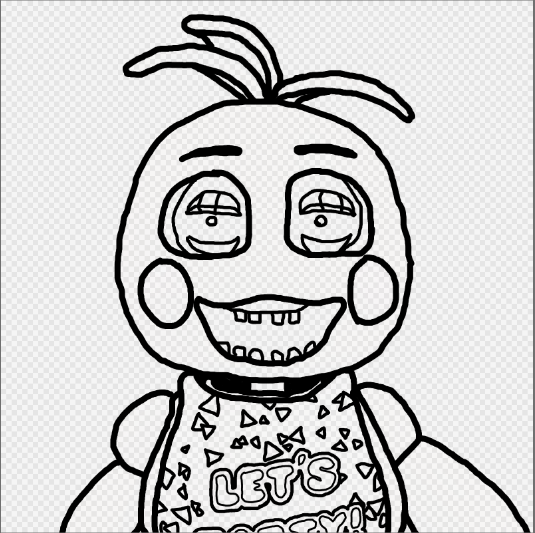 Withered Toy Chica Coloring Pages Coloring Pages