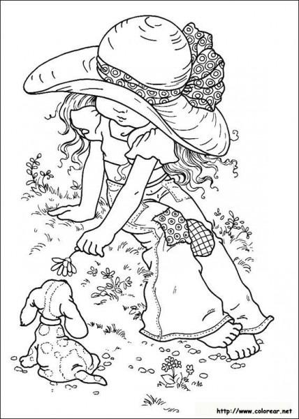 Dibujos De Sarah Kay Para Colorear En Colorear Net