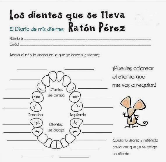 Dibujos Del Ratoncito Perez Para Imprimir Gratis