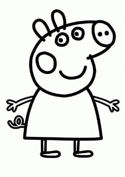 Torta De Cumpleaños De Peppa Pig