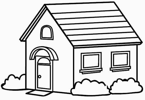 Aprender A Pintar Casas Dibujos De Casas Para Imprimir Y Colorear