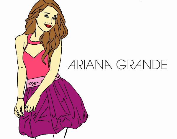 Dibujo De Ariana Grande Pintado Por En Dibujos Net El Día 23