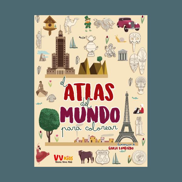 El Atlas Del Mundo Para Colorear (vvkids)