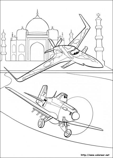 Dibujos De Aviones Para Colorear En Colorear Net