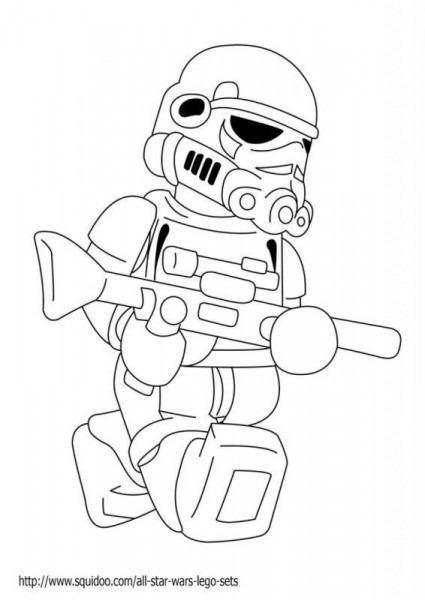 Dibujos De Lego Star Wars Para Colorear