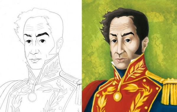 Dibujos Para Colorear De Simón Bolivar