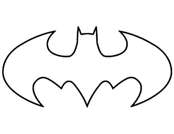 Murcielago Batman Para Colorear