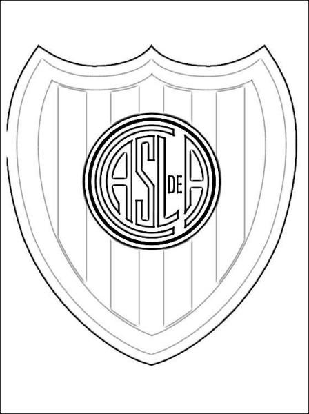 Escudo De San Lorenzo Para Imprimir