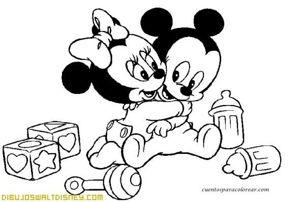 Bebé Disney Jugando Con Cochecito