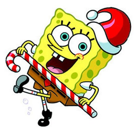 Bob Esponja En Navidad Hd