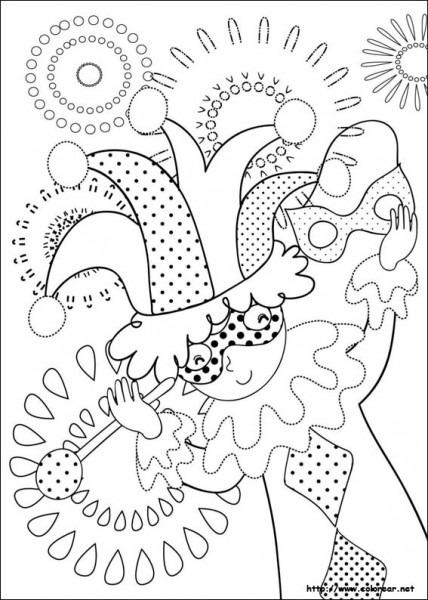 Dibujos De Carnaval Para Colorear En Colorear Net